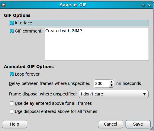 Panduan GIMP : Membuat Animasi Gambar Bergerak – Panduan