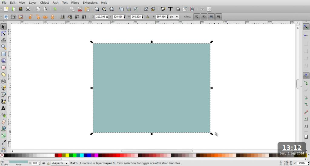 Edit Path – Inkscape - Bagian 2 - 1
