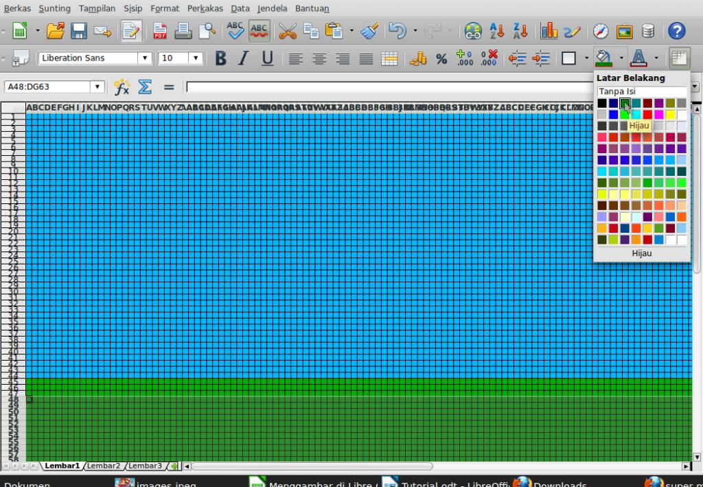 Gambar-Layar-Menggambar di Libre Office Calc.ods - LibreOffice Calc-10