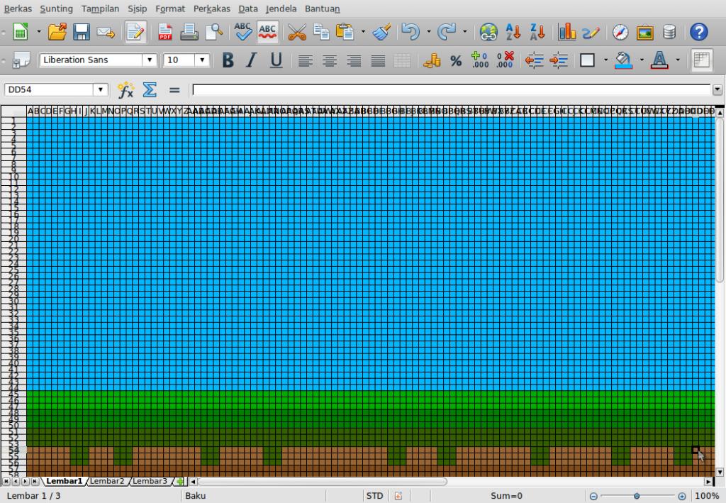 Gambar-Layar-Menggambar di Libre Office Calc.ods - LibreOffice Calc-14
