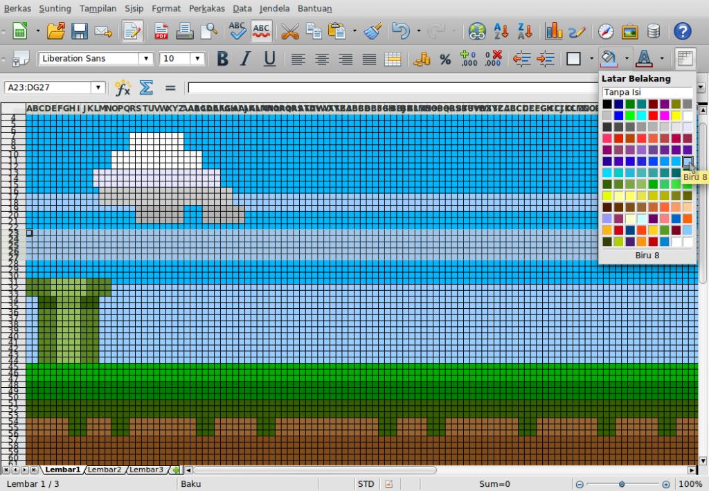 Gambar-Layar-Menggambar di Libre Office Calc.ods - LibreOffice Calc-17