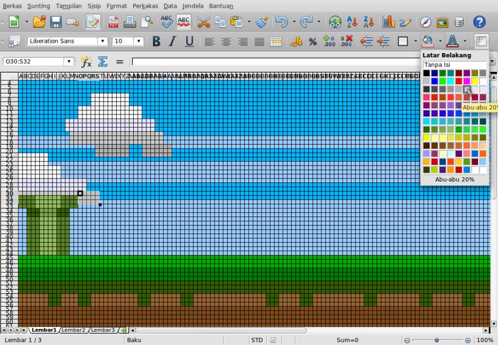 Gambar-Layar-Menggambar di Libre Office Calc.ods - LibreOffice Calc-18