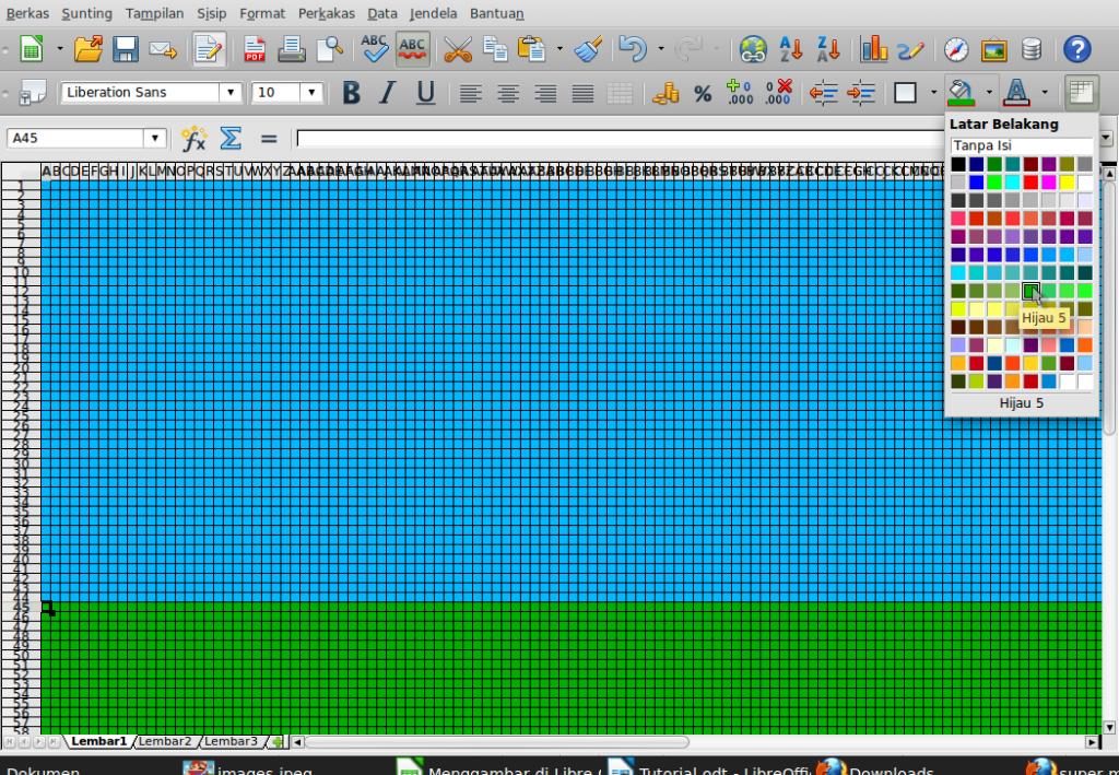 Gambar-Layar-Menggambar di Libre Office Calc.ods - LibreOffice Calc-9