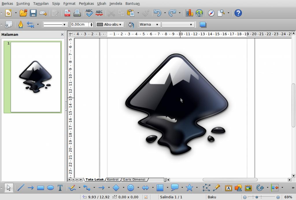 Gambar-Layar-desain.odg - LibreOffice Dr