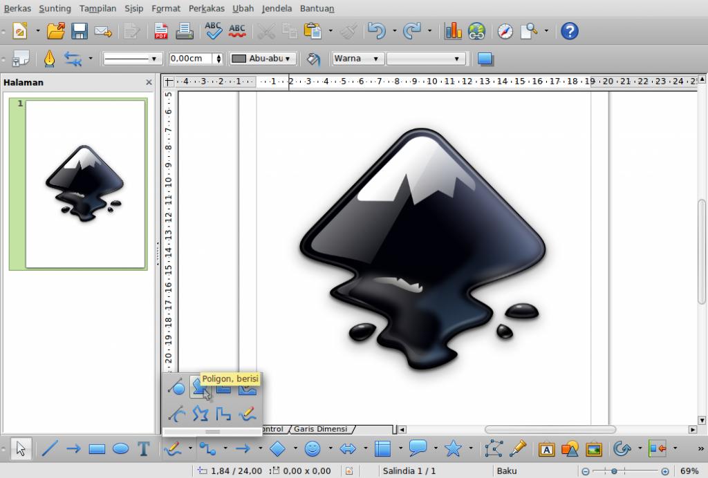 Gambar-Layar-desain.odg - LibreOffice Dra