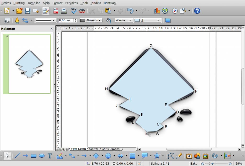 Gambar-Layar-desain.odg - LibreOffice Draw