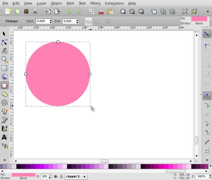 Membuat Bentuk Love – Inkscape - 1
