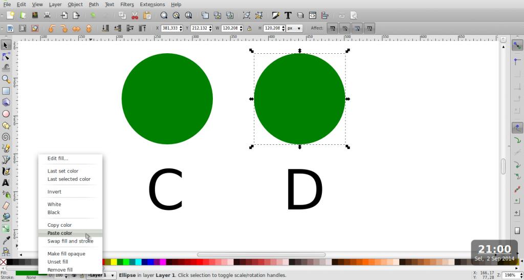 Teknik Duplikasi Warna – Inkscape - 6