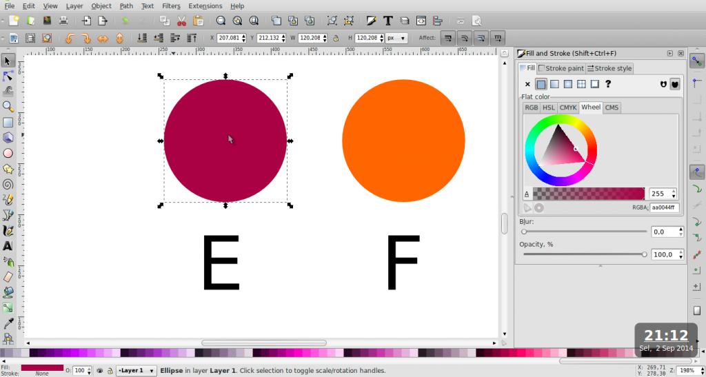 Teknik Duplikasi Warna – Inkscape - 7