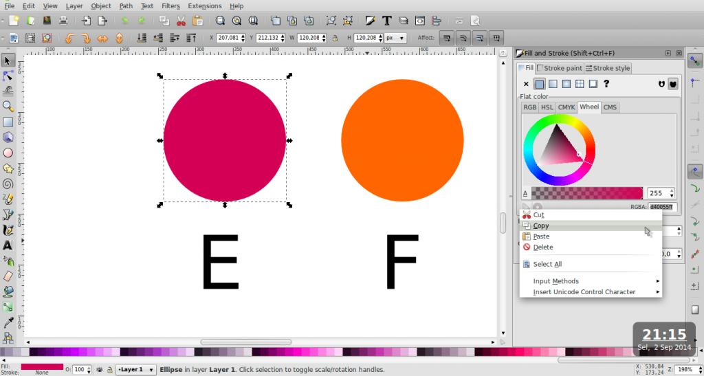 Teknik Duplikasi Warna – Inkscape - 8