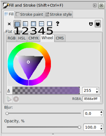 Teknik Gradiasi Obyek – Inkscape - 6