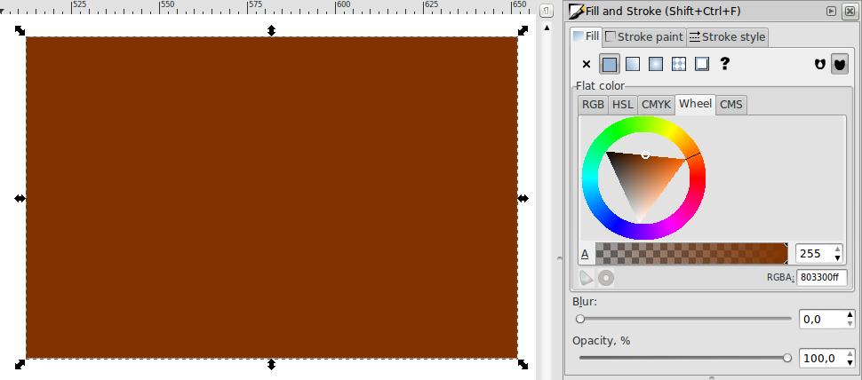 Teknik Gradiasi Obyek – Inkscape - 7