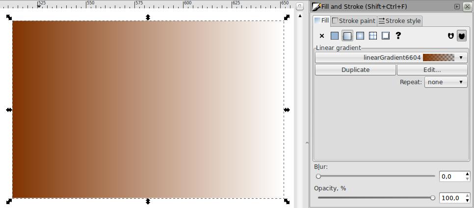 Teknik Gradiasi Obyek – Inkscape - 8