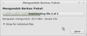 2 Mengunduh Berkas Paket