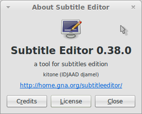 About Subtitle Editor