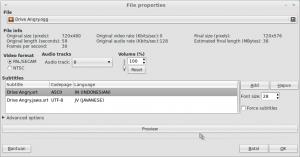 File properties subtitle
