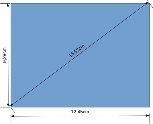 dimension line contoh