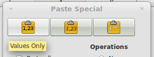 paste-spesial-values-only